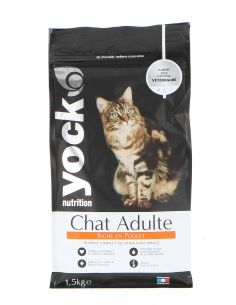YOCK NUTRITUTION CHAT ADULTE POULET