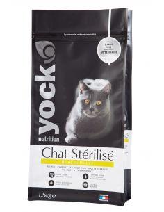 Yock nutrition chat stérilisé poulet