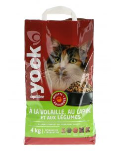 YOCK EQUILIBRE CHAT VOLAILLE,LAPIN ET LEGUMES