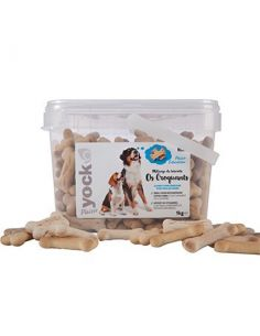 YOCK PLAISIR BISCUIT OS CROQUANT 1KG