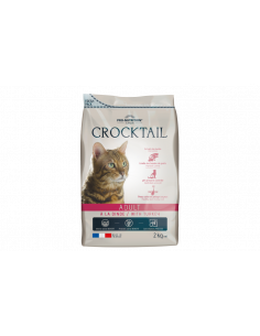 Crocktail chat adulte à la dinde