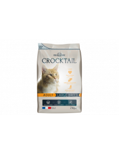 Crocktail chat adulte large